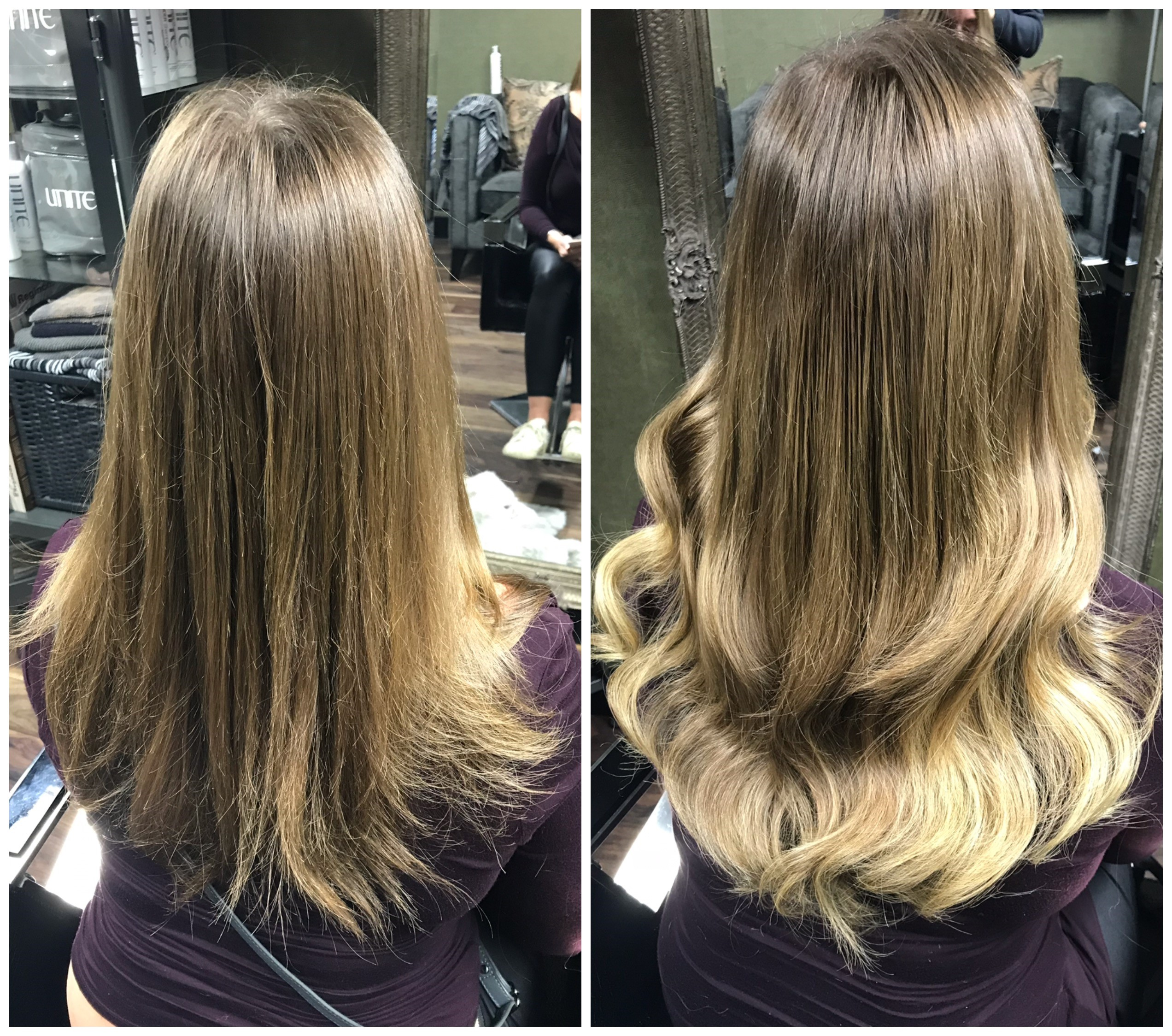 Louise Bailey Tape Hair Extensions3 Hair Extensions London
