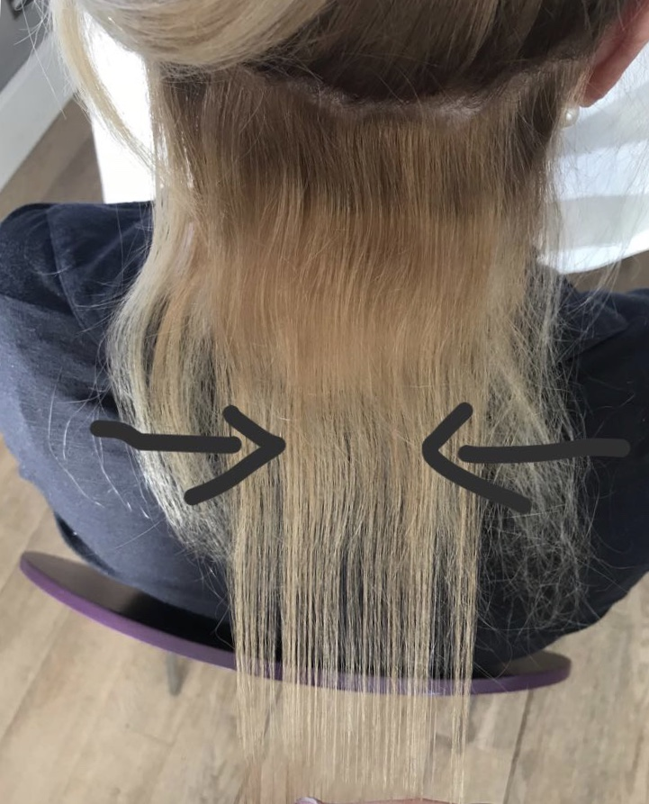 Proof Tape Hair Extensions Are Better For The Hair Than Single Bonds