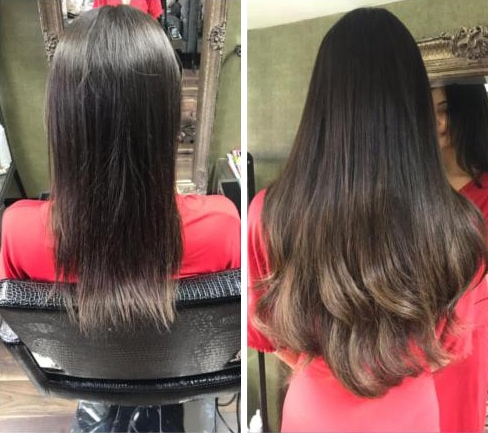 Louise Bailey Uses Only Top-Quality Tape Hair Extensions