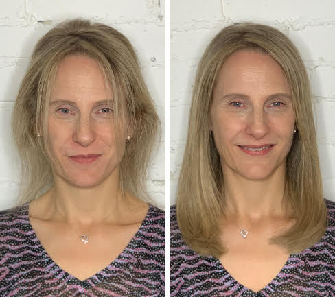 hair-extensions-for-thinning-hair-before-after