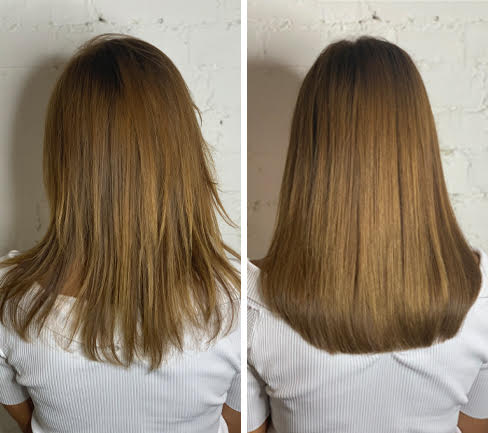 auburn-hair-extensions-before-after